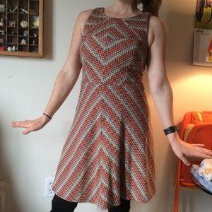 Eva Franco Dresses - Eva Franco Anthropologie Stretchy Rainbow Dress